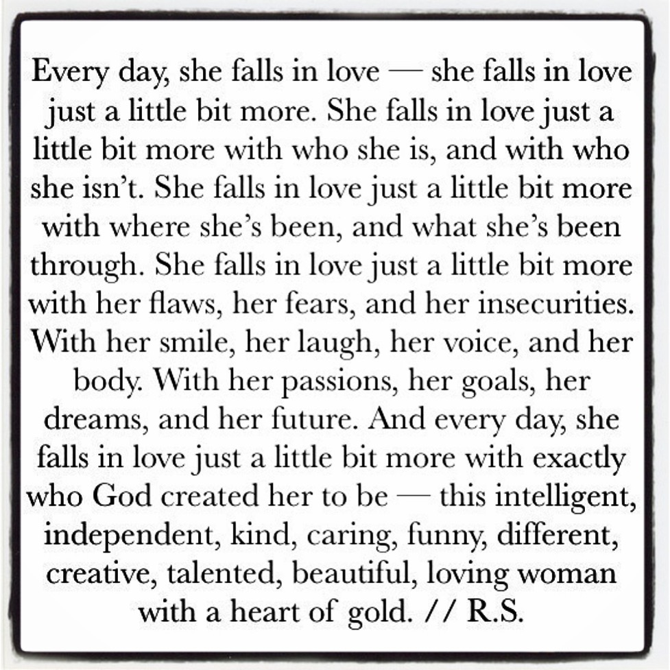 She Falls in Love